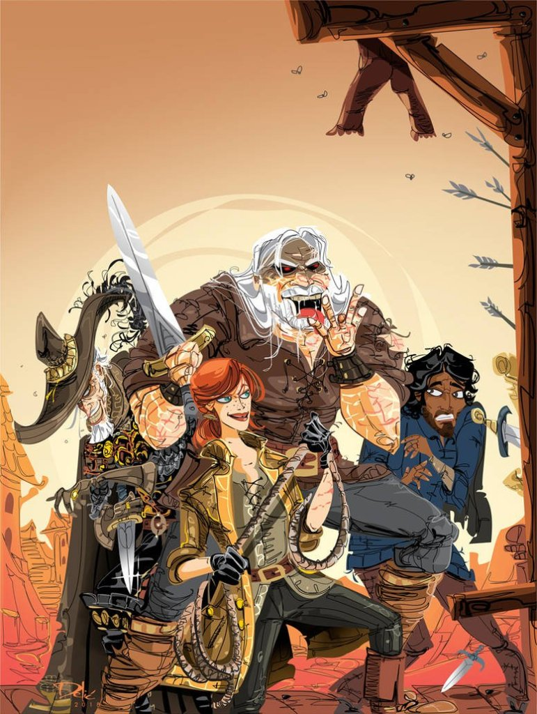 red country by dejan delic dcon4nc pre 771x1024 - Review: Red Country by Joe Abercrombie SPOILERS!!