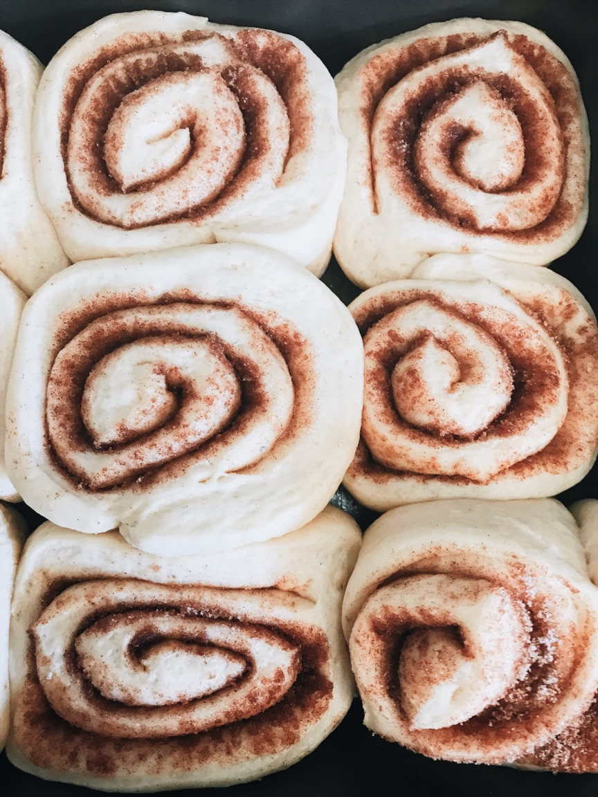 Soft Gooey Cinnamon Rolls The Cozie