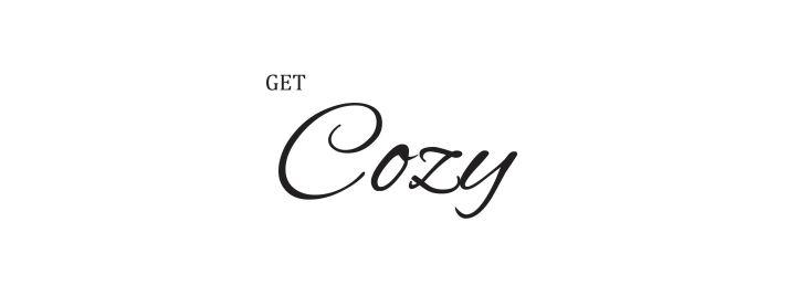 get cozy banner