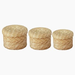 Adair Handmade Wicker Storage Basket – Set of 3