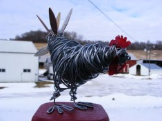 Chicken Sculpture 005