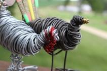 Piggy Finish & Black Turkey Sculpture 034