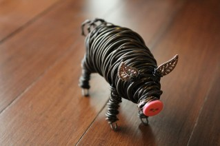 Commission Pig Sculpture (2 pig sculpts.) 021 - Copy