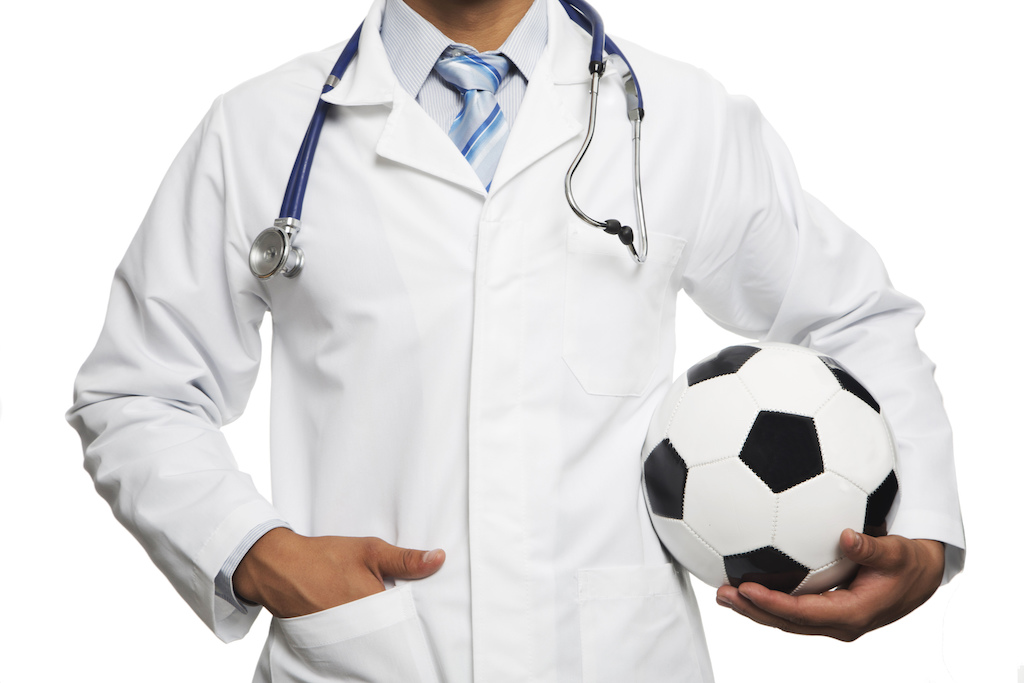 CPDG acupuncture sports injuries white coat
