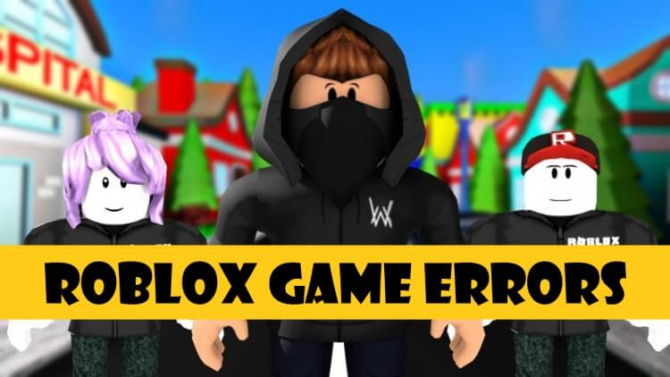 Roblox game errors