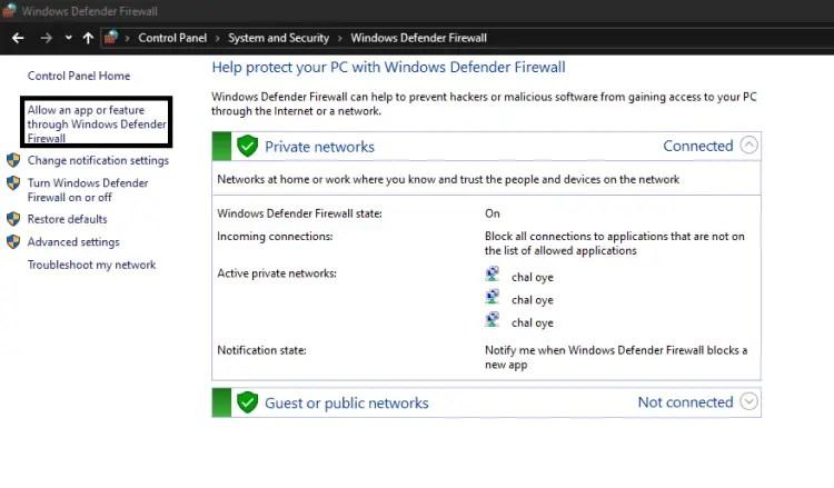 minecraft-LAN-not-working-firewall-blocking-minecraft