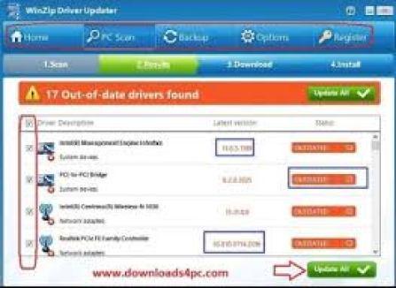 WinZip Driver Updater 5.29.1.2 Crack