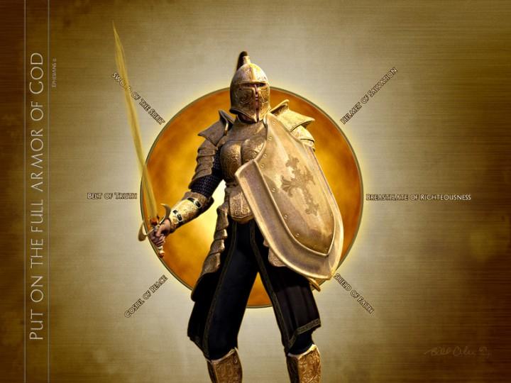 Image result for whole armor of god kjv