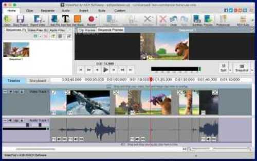 VideoPad Video Editor 6.10 Crack + Serial Key Full Free Download