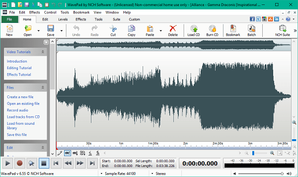 WavePad Sound Editor 9.54 Crack With Registration Code Download