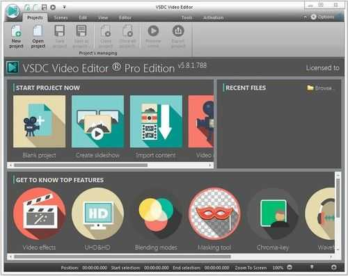 VSDC Video Editor Pro 6.4.1.71 Crack With Keygen Free 2020