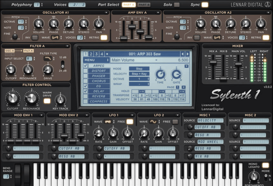 Sylenth1 3.067 Crack With License Key Free Download