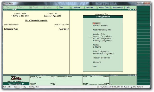 Tally ERP 9 Crack Release 6.5.5 With License Key Free Download