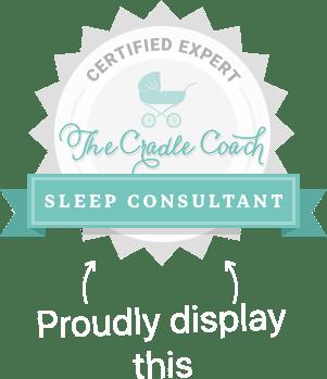 The Cradle Coach Academy sleep consultant expert badge