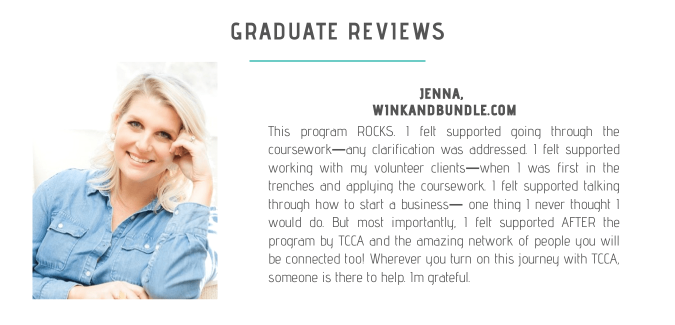 Review from a graduate of TCCAs sleep consultant certification program