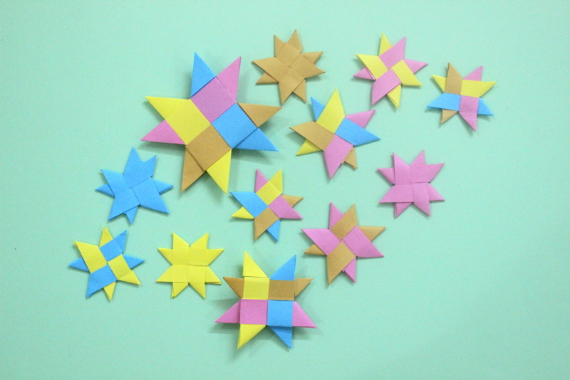 How To Make Origami Stars The Craftables