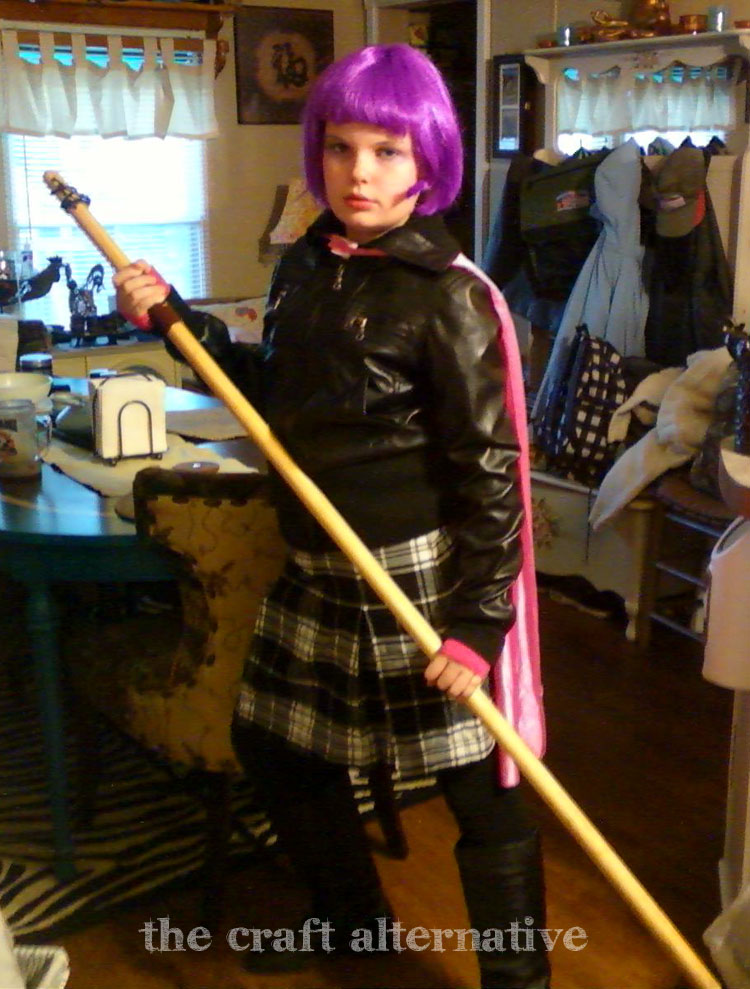 Make It Yourself Harley Quinn Costume Hit Girl 2 copy