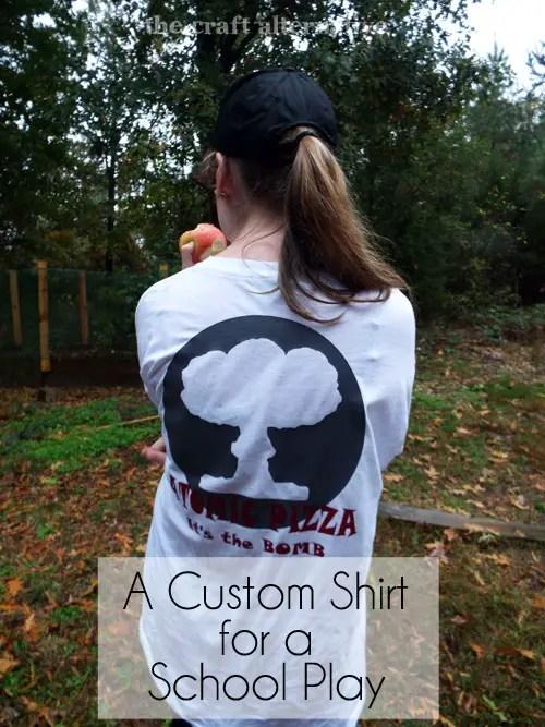 Custom T-Shirt Using Heat Transfer Vinyl DSCF2323