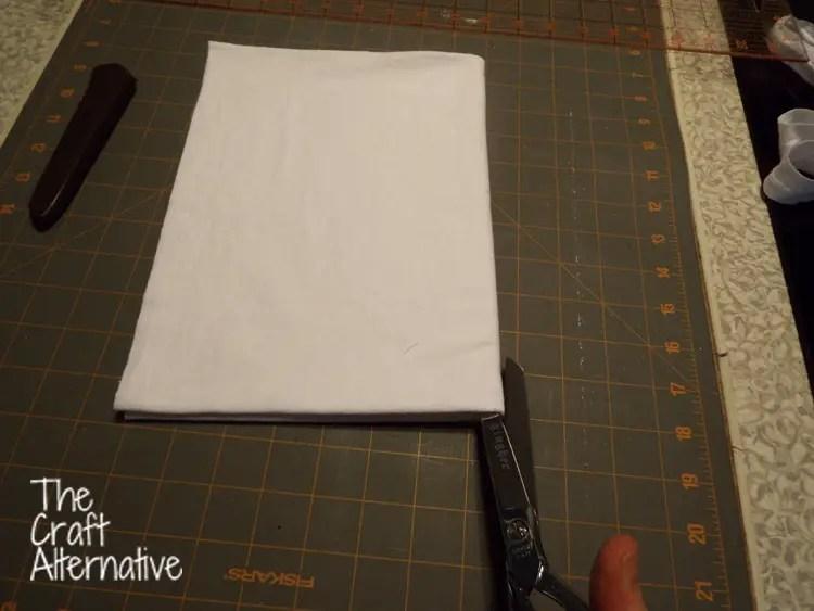 Make a T-Shirt Scarf_Fold