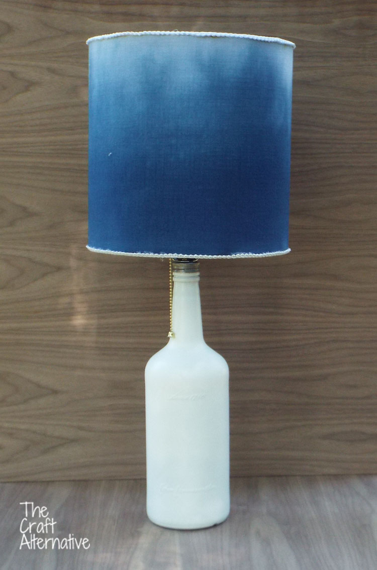 How to Dye a Lamp Shade_Finished