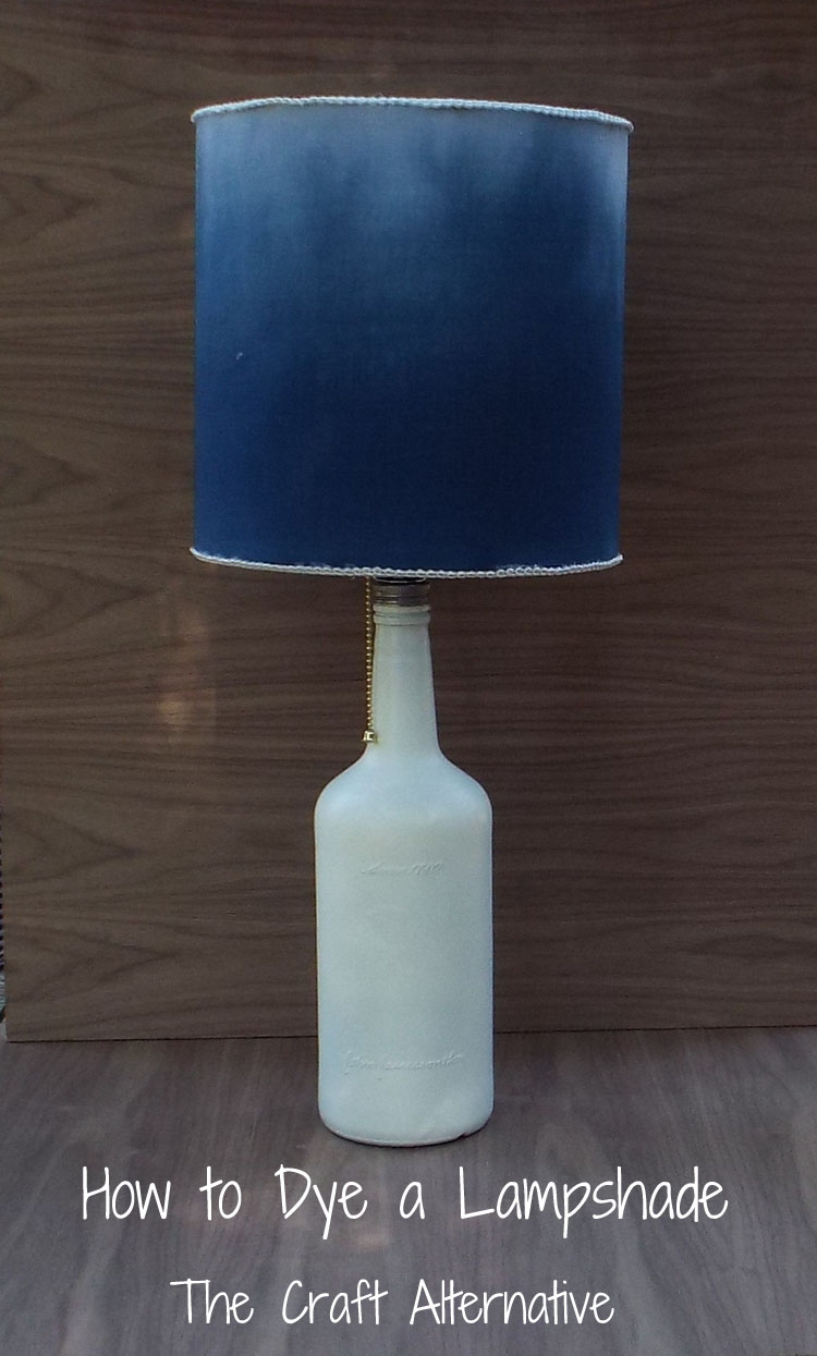 How to Dye a Lamp Shade