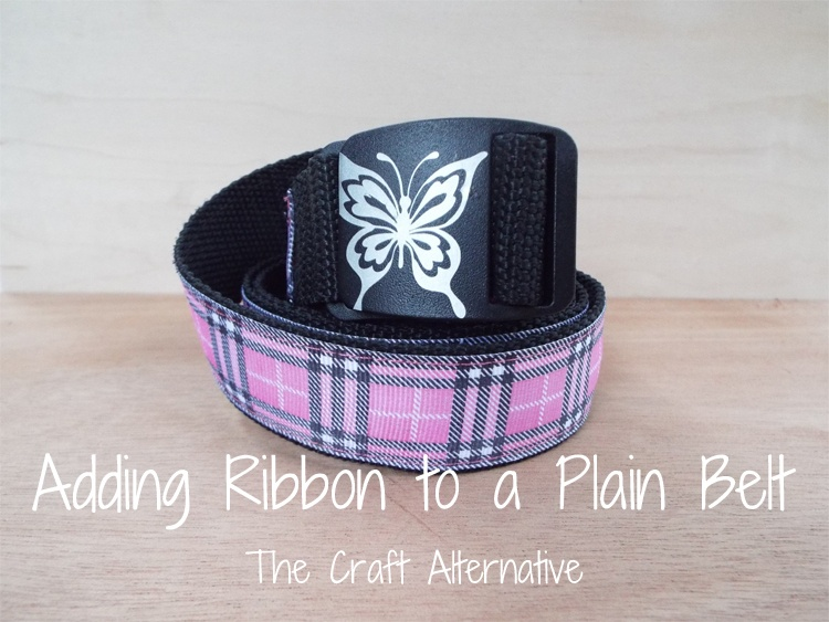 Adding Ribbon to a Plain Belt