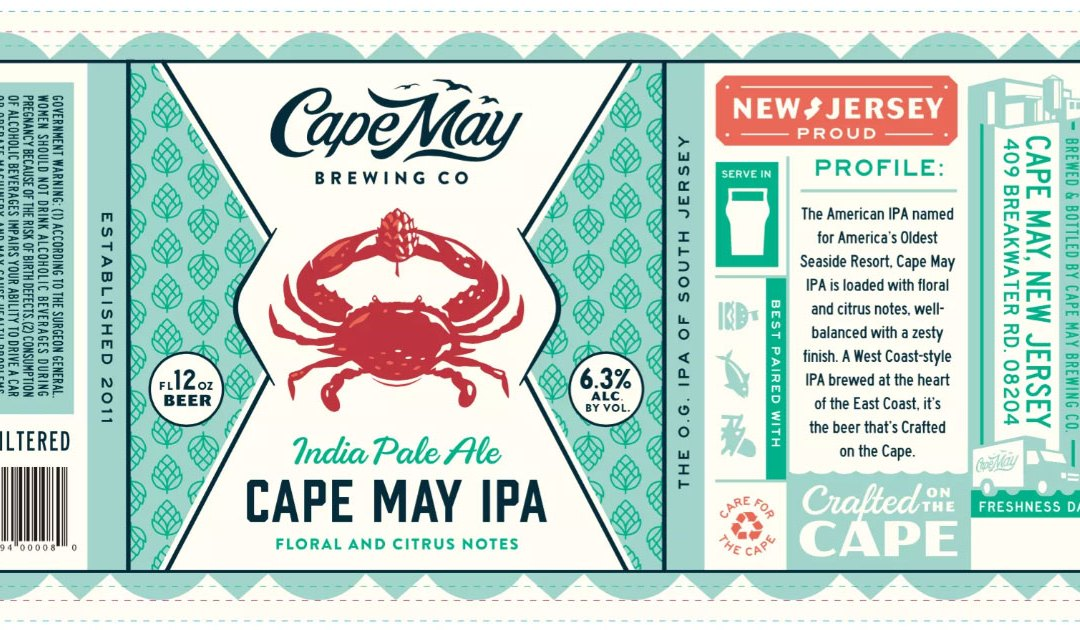 Review: Cape May IPA by Cape May Brewing Co.