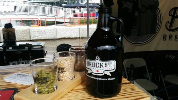 While not a beer, it's always good to see the fresh, unfiltered ingredients Brock Street Brewing Co. uses in its ales.