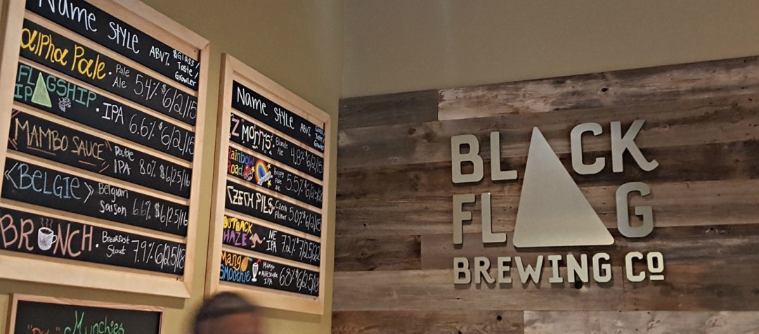 The Craft Beer Diaries catches up with Columbia craft brewer Black Flag Brewing Company to learn about their history and where they're going next.
