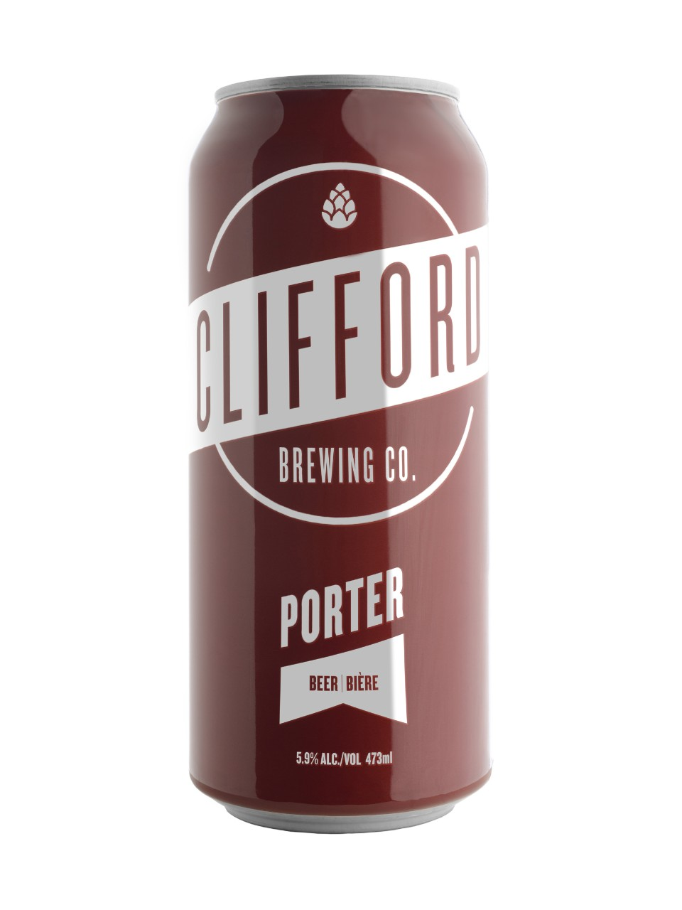 Clifford Brewing Company's Porter is their flagship beer and is great with hearty meat dishes and best served on cool days, and nights. Click through for the full review.