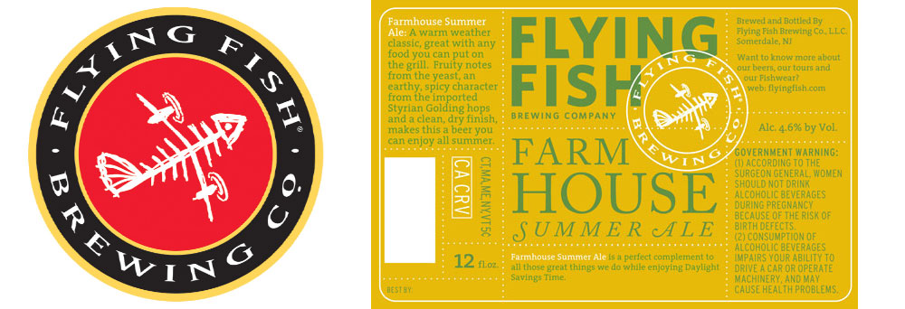 Review: Farmhouse Summer Ale by Flying Fish Brewing Co.