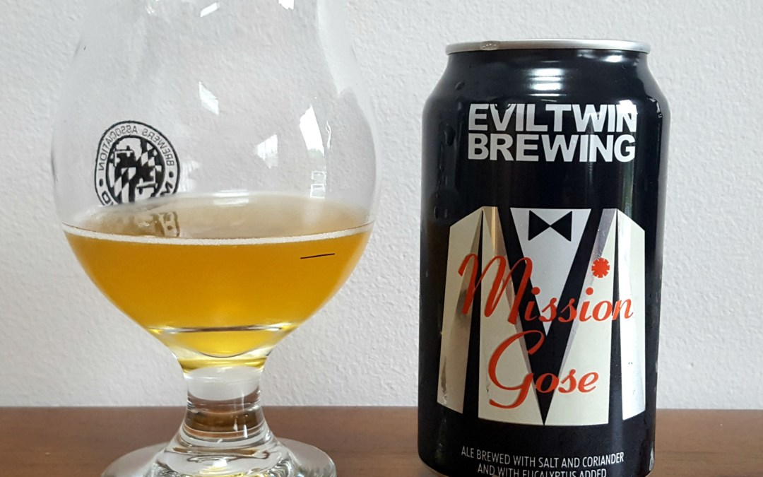 Review: Mission Gose by Evil Twin Brewing