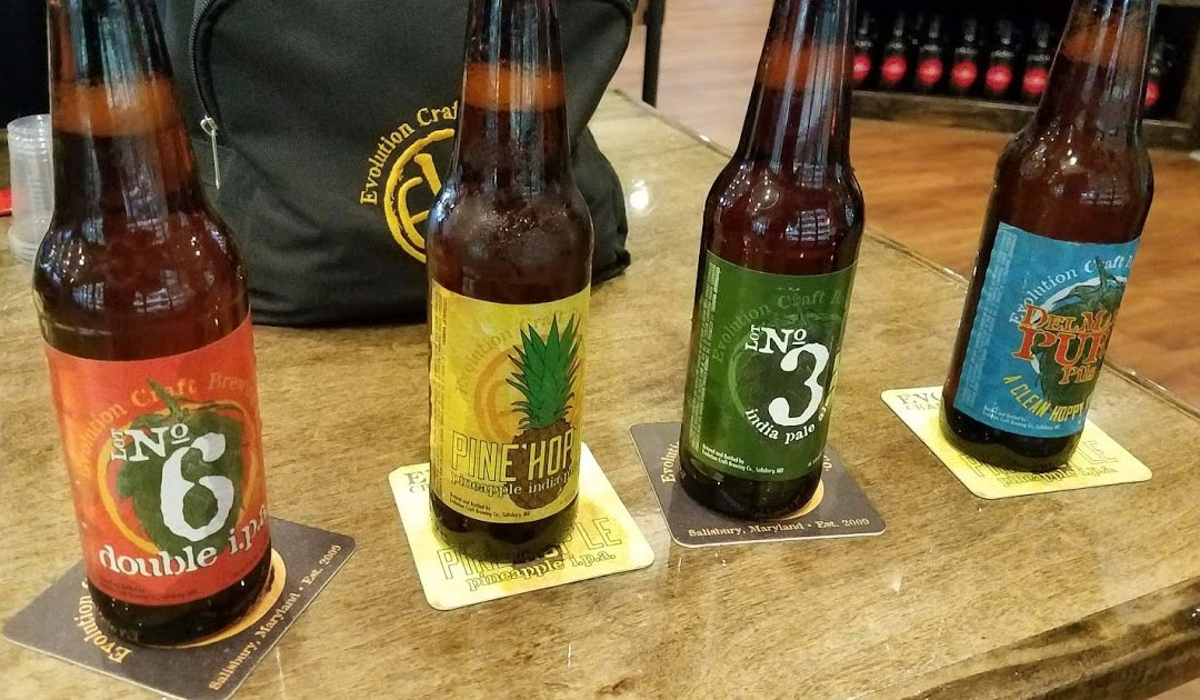 Reviews: Beer Tasting with Evolution Craft Brewing Co.