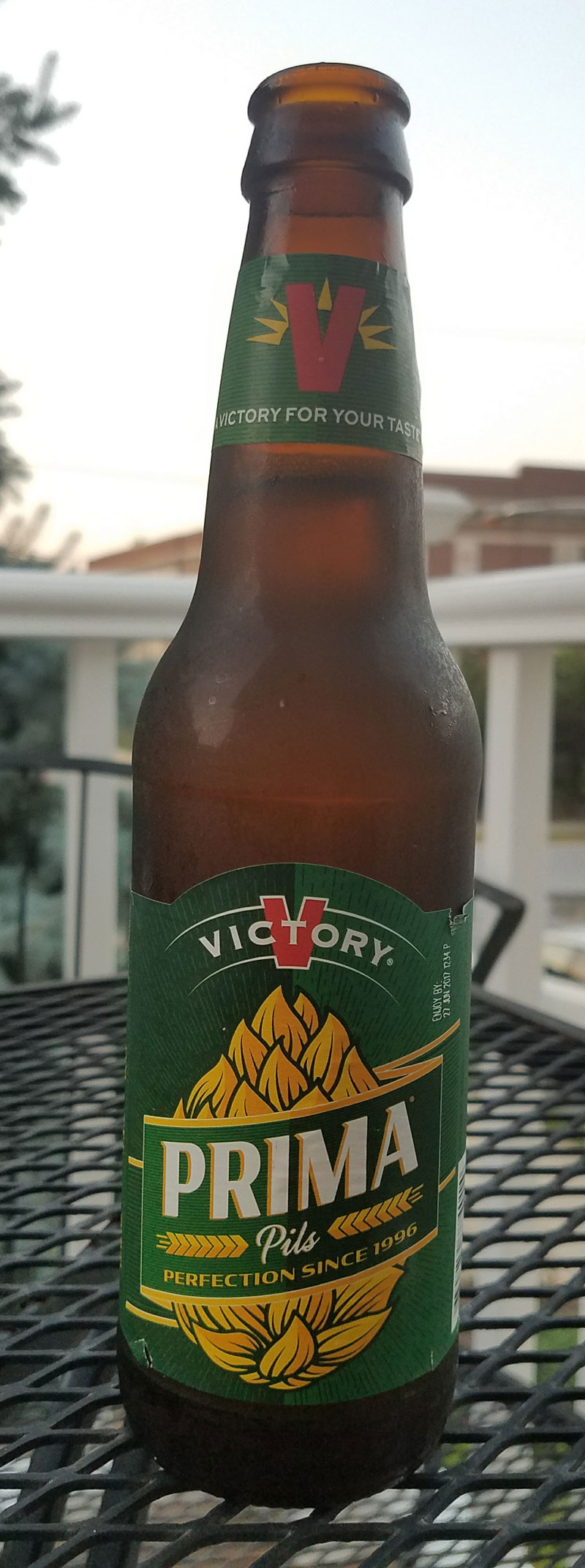 With a name that comes from a German exclamation of joy, Prima Pils is Victory Brewing Company's take on the German Pilsner style. Click through for the full review.