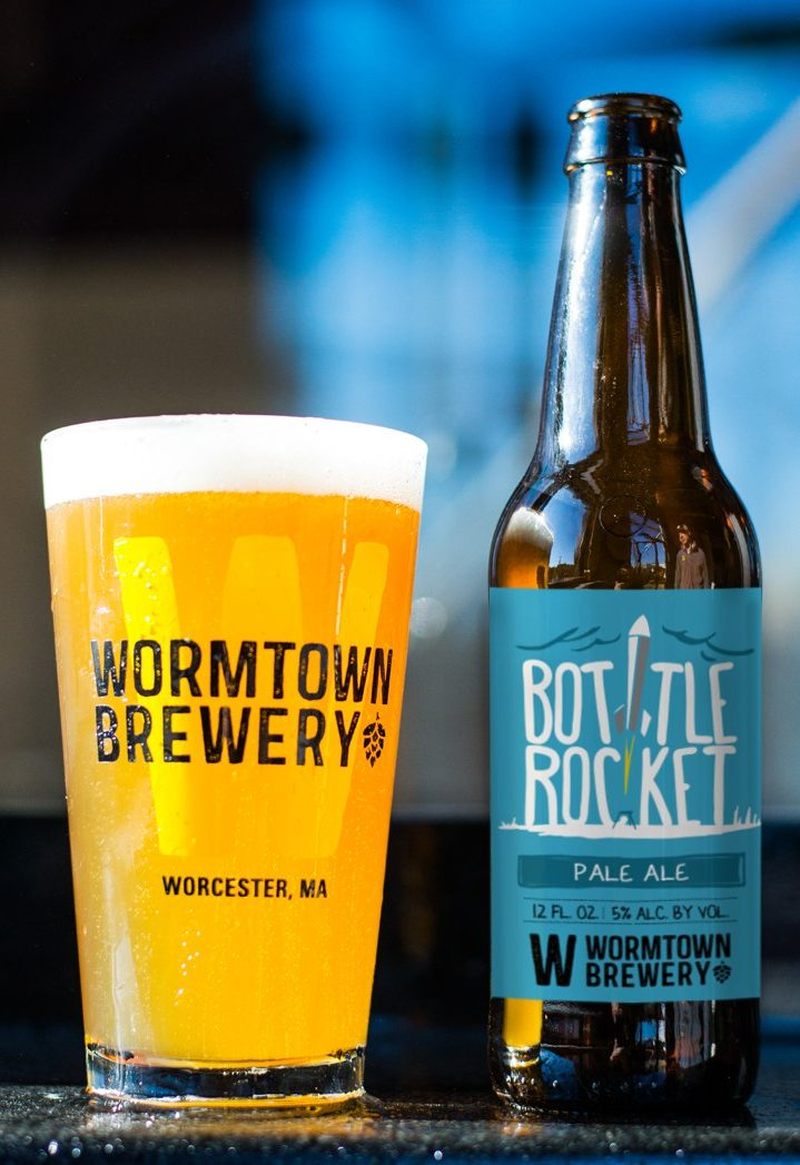 Bottle Rocket doesn't disappoint A light yet flavorful pale ale, Bottle Rocket gives a hoppy flavor on the front of the tongue without being overwhelming. Click through for full review.