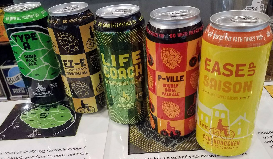 Reviews: Beer Tasting with Conshohocken Brewing Co.