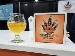 Valley Forge Beer and Cider Festival 20171104_170433 Crowded Castle C&C Witbier