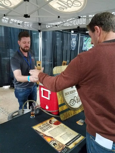 Valley Forge Beer and Cider Festival 20171104_173054 Kentucky Bourbon Barrel Ale Honey Barrel Brown Ale