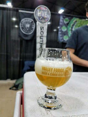 Valley Forge Beer and Cider Festival 20171104_173432 Southern Tier Pale Ale Live