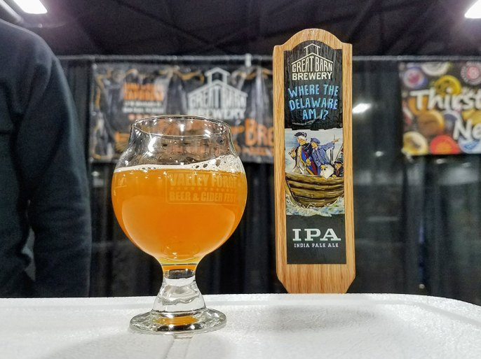 Valley Forge Beer and Cider Festival 20171104_182254 Great Barn Brewery Where the Delaware am I