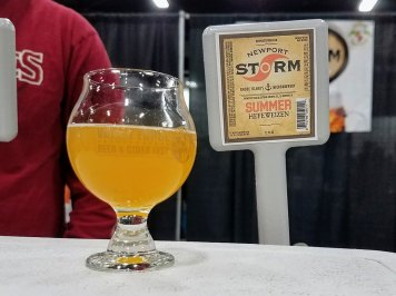 Valley Forge Beer and Cider Festival 20171104_183103 Newport Storm Summer Hefeweizen