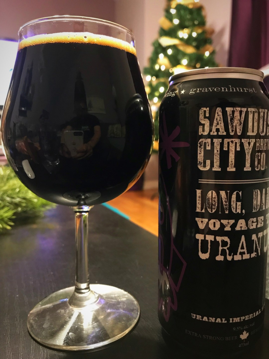 In keeping with the standard for Imperial Stouts, this brew clocks in at a hearty 9.5% ABV. With all of the additional notes of flavour, the alcohol content is dangerously well-hidden.
