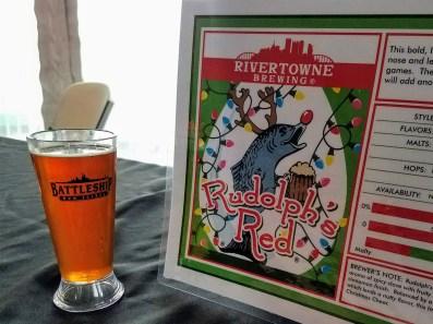 Suds & Stogies 2017 Battleship New Jersey_20171118_134631 Rivertowne Brewing Rudolph's Red