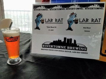 Suds & Stogies 2017 Battleship New Jersey_20171118_135947 Rivertown Brewing Lab Rat Red Beet