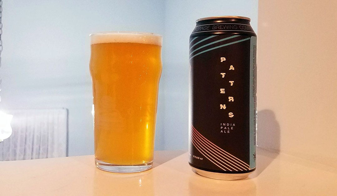 Review: Patterns IPA by Anchorage Brewing Company
