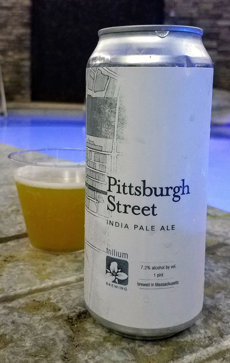 Medium-bodied, soft and creamy, this is just an absolutely quaffable IPA. I look forward to trying the entire lineup when I visit Trillium Brewing Company. Click through for the full craft beer review.
