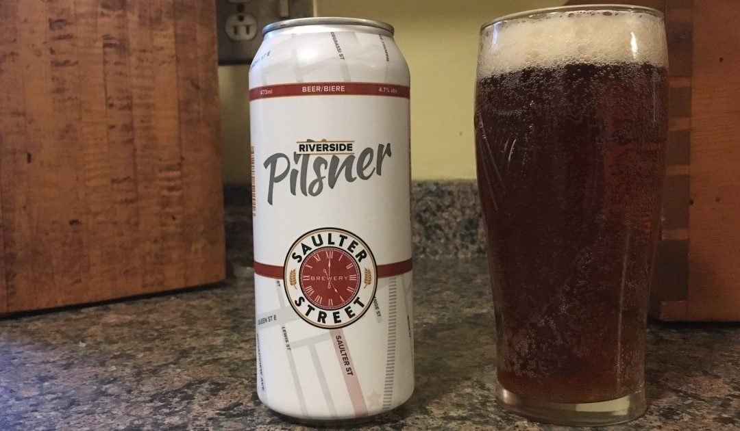 Review: Riverside Pilsner by Saulter St. Brewery