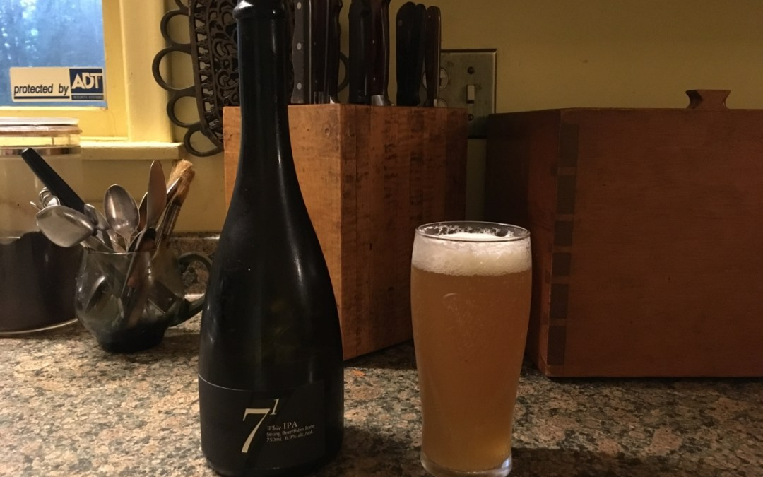 Review: 7(1) White IPA by Exchange Brewery