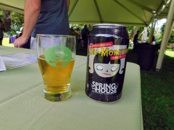 Fonthill Castle Beer Festival 2018 043 Spring House Brewing The Astounding She-Monster (Large)