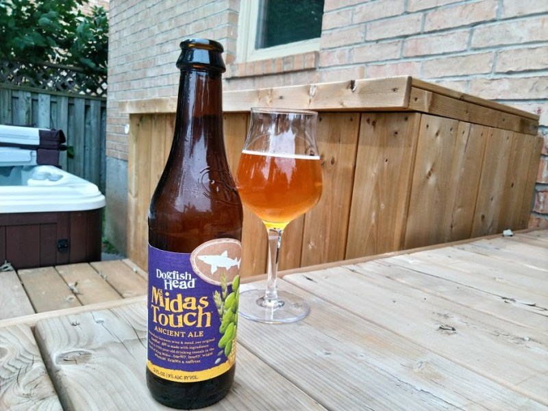 Midas Touch by Dogfish head